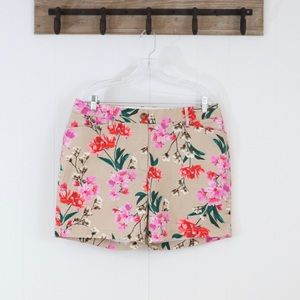 Land's End floral shorts mid rise